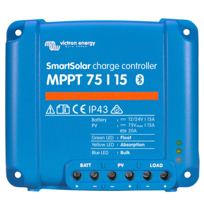 Victron Smartsolar charge controller MPPT 75 15